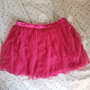 Hot Pink Justice Skort Size 12 💥5/$20💥